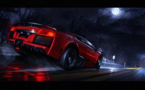Lamborghini Murcielago, macchinario, Car
