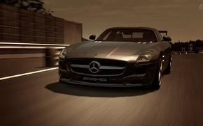 Mercedes Benz AMG GT5, máquina, Coche