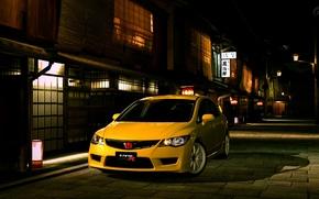Honda Civic Type R Sedan, машина, авто