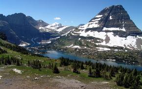 Hidden Lake, Passo Logan, Parco nazionale Glacier, Montana, USA