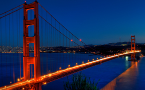 Il Golden Gate Bridge, Frisco, USA