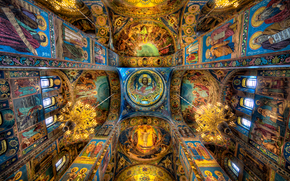 petersburg, The Russian Federation, Mosaics in the church