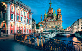 Saint Petersburg, Russian Federation, Church on Blood