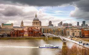 Vista dalla Tate Modern, Londra, Regno Unito