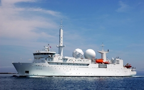 DUPUY DE LOME, unusual vessel, French Navy, research ship