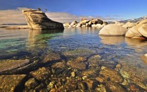 塔霍湖东岸, 石头, 景观