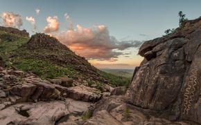 Gold Canyon, Arizona, Золотой каньон, Аризона, петроглифы, наскальные рисунки, каньон, рисунки