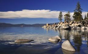 东海岸, 塔霍湖, 景观
