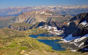 阿尔及尔湖, 安塞尔·亚当斯荒野, 加州, 美国