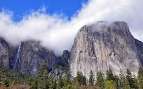 Nastro Cascate, El Capitan, Yosemite National Park, California, USA