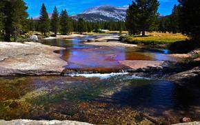 图奥勒米河, 优胜美地国家公园, 景观