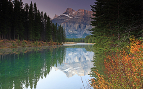 Lake Two Jack, Banff National Park, Alberta, Canada