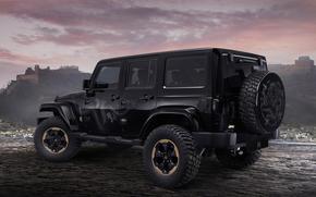 Jeep, Wrangler, Dragon, Edition, 2014
