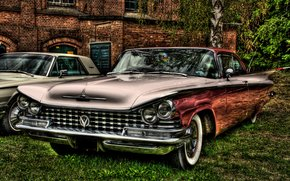 buick, 1959, HDR