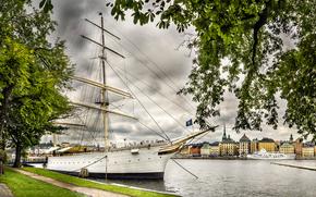 Chapman boat, Stockholm, Sweden