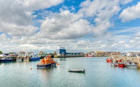 Porto di Howth, Dublino, Irlanda