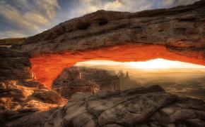 峡谷地国家公园, 山, 拱, 景观