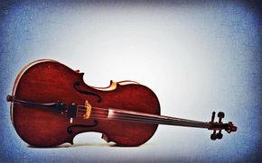 cello, Music, musical instrument, violin, blue