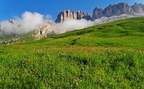 Dolomites, Italy, Mountains, Hills, landscape