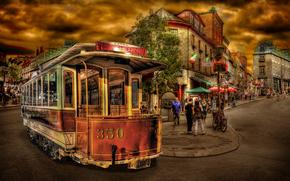tram, Tram, Quebec, Canada