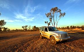 Jeep, Cherokee, KJ, Lightning Ridge, Nouvelle-Galles du Sud, Australie