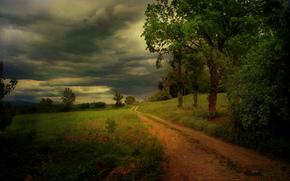 Country lanes, Fagagna, Friuli-Venezia Giulia, Italy