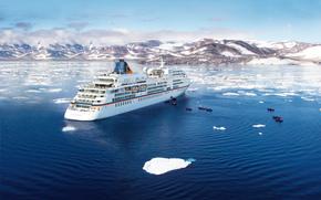 MS Europa, Crucero, Enviar, expedición, Groenlandia