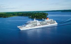 MS Europa, Crucero, Enviar