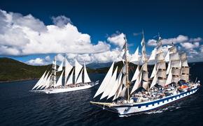 Star Flyer, Royal Clipper, vela, navi, barche a vela