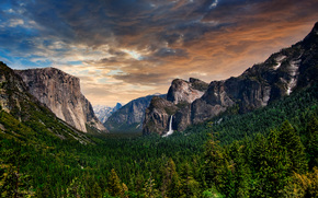 Yosemite National Park, USA, landscape