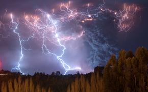 storm, Lago Ranco, Chile