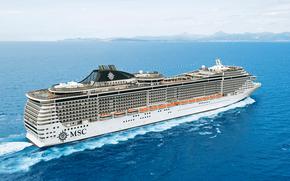 MSC Splendida, Crucero, Enviar