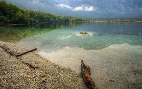 Lago di Bohinj, Northern Slovenia, paesaggio