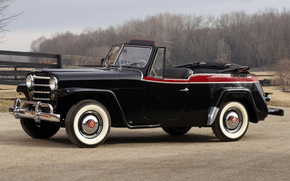 Willys, Overland, Jeepster, Phaeton, 1950