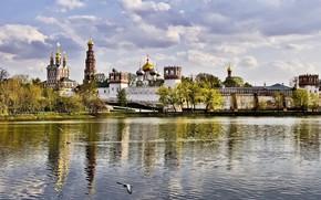 Novodevichy Monastery, москва, новодевичий монастырь