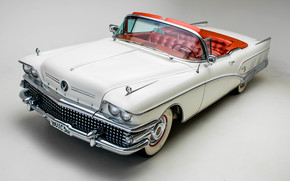 buick, limited, convertible, 1958