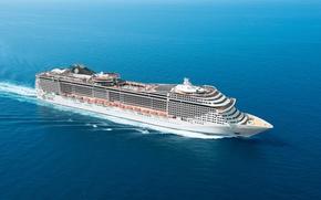 MSC Fantasia, Rejs, Statek
