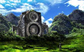 maya, fantasy, Mystery