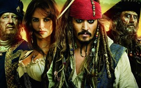 Johnny Depp, Piratas del Caribe, Johnny Depp, Piratas del Caribe