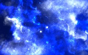 空间, 明星, 幻想, 灯火, 闪耀