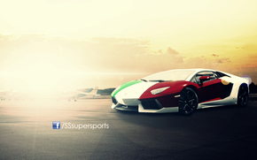 auto, lamborghini, Aventador, LP700, tricolore, SSsupersports