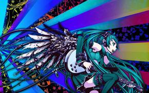 girls, аниме, 3d, art
