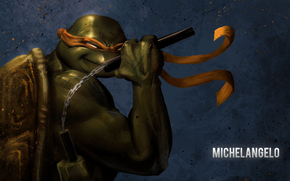 Michelangelo, art, Turtles, ninja, Teenage Mutant Hero Turtles, TMHT, comic strip, cartoon