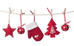 contento, vacanze, allegro, Natale, nuovo, anno
