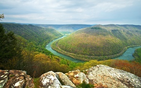 New River Gorge, Grandview State Park, Virginia Occidentale