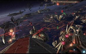 Star Wars, A Vingança dos Sith, Star Wars, espaço, nave espacial, guerra, navio