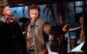 Hugh Jackman, X-Men, Wolverine, Wolverine, frizioni, rabbia, lama, comic strip, cartone animato