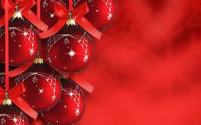 feliz, vacaciones, alegre, Navidad, nuevo, año