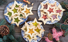 happy, holidays, merry, Christmas, new, year, food, cookies