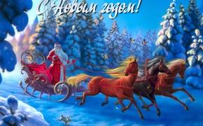 Año Nuevo, 2014, Papá Noel